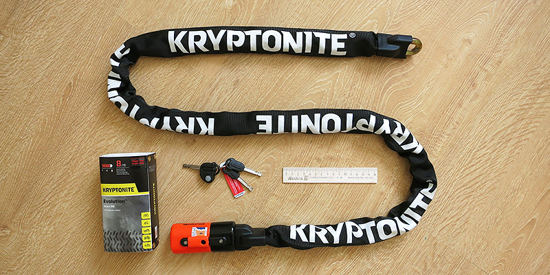 Велосипедная цепь Kryptonite Evolution series 4 1016