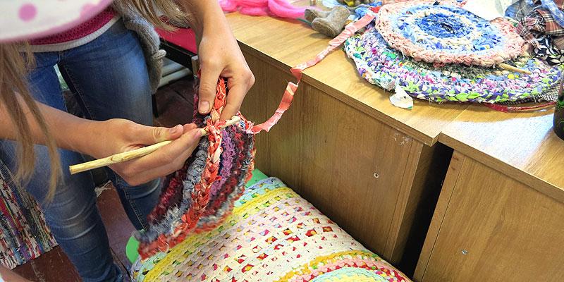 Лоскутное шитье, кружевоплетение, художественный войлок