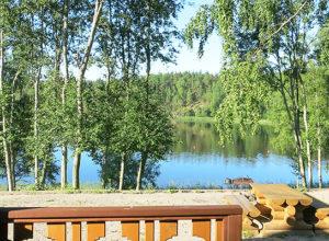 Коттедж Канапелька с видом на Ладожское озеро в Карелии
