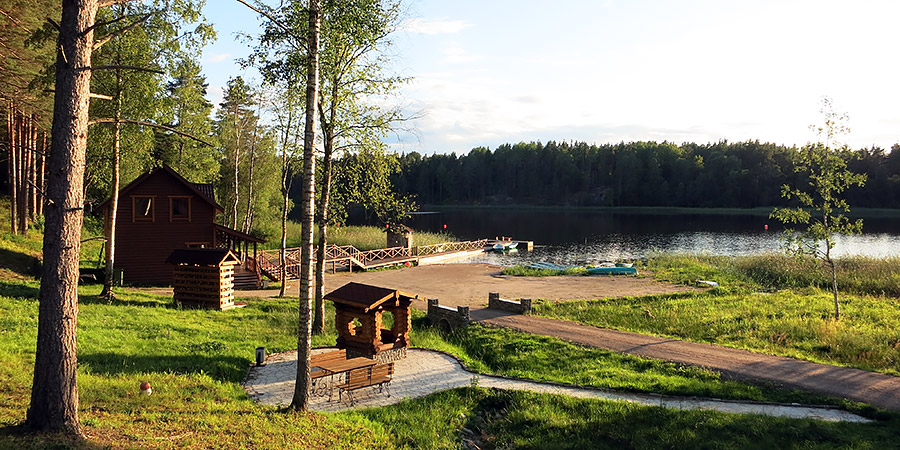 Отдых с детьми в Карелии на базе Канапелька (Тиурула, Кильпола)