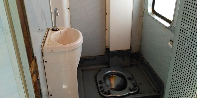 Туалет в электричке Санкт-Петербург Кузнечное