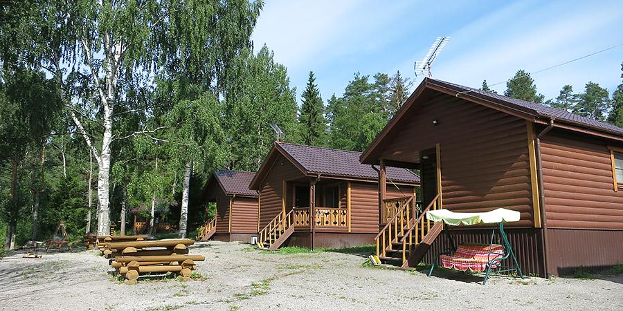 Уютные домики коттеджи в Карелии Тиурула