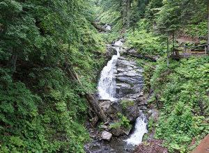 Парк водопадов Менделиха Роза Хутор