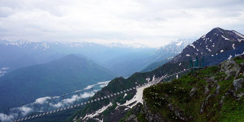 Смотровая площадка Сочи на вершины Кавказского хребта