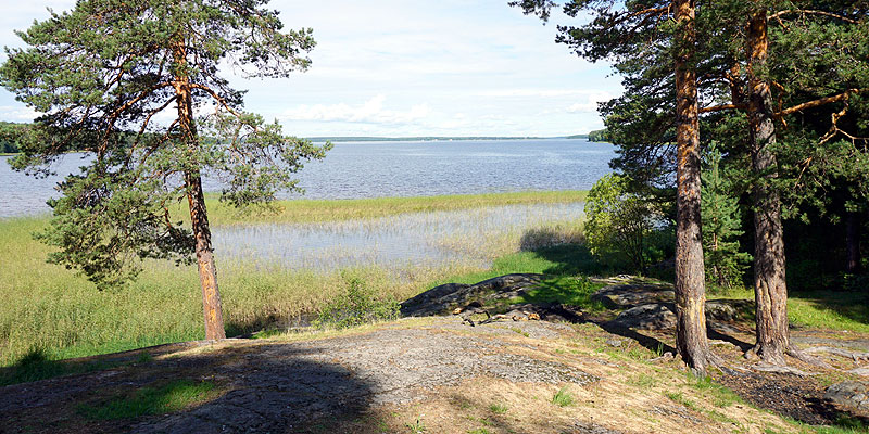 Бухта озера Сургубское пляж Маткачи