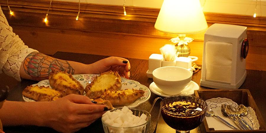 Традиционное карельское угощение к чаю калитка
