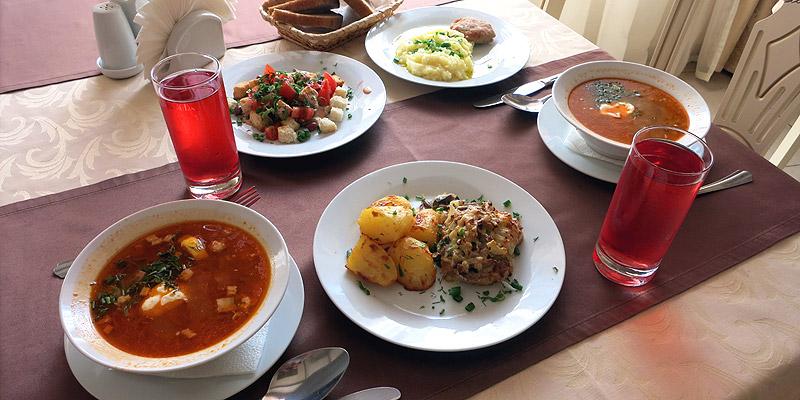 Питание в улыбке цены в ресторане