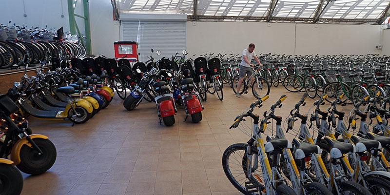 Прокат велосипедов самокатов электросамокатов