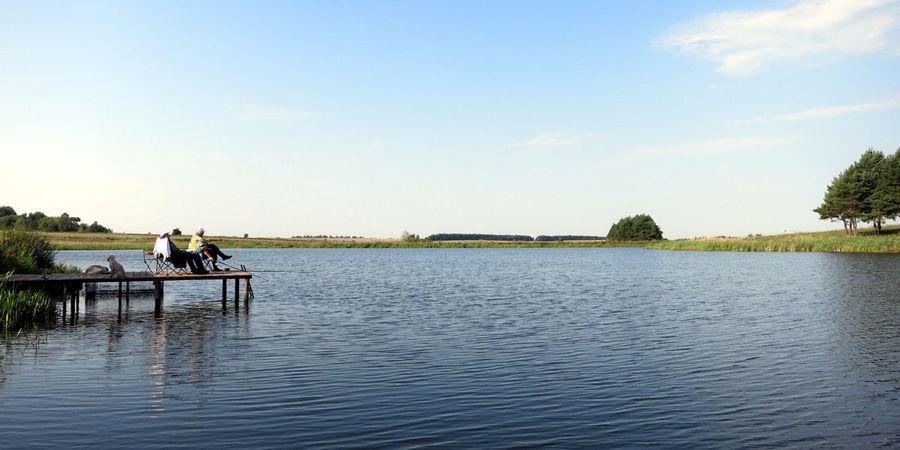 Утро на базе отдыха Золотая Рыбка Орел