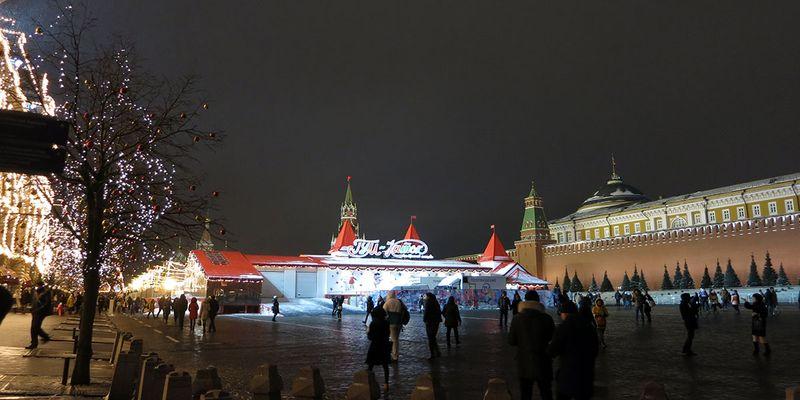Какие улицы украсили к Новому году - Красная площадь