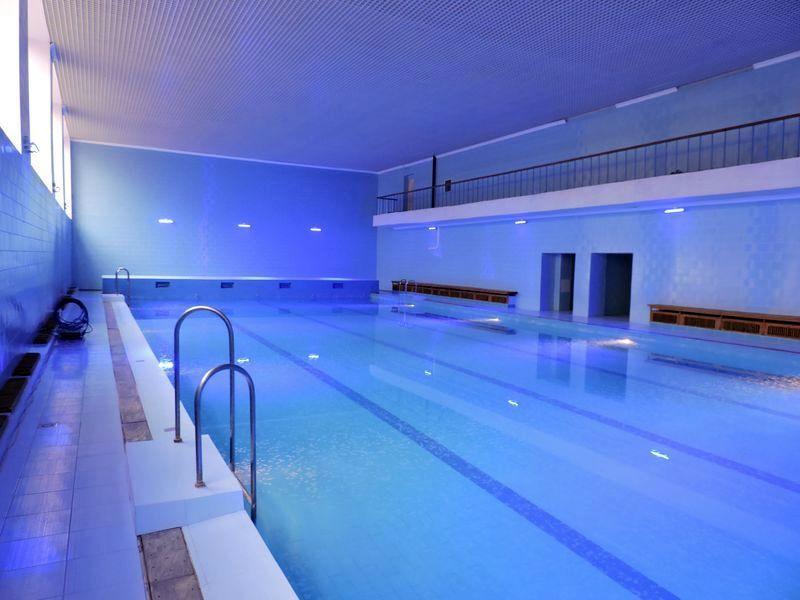 Новый бассейн в Андре