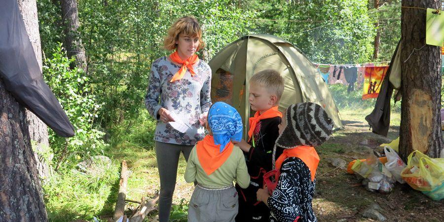 Организация детского досуга и детских развлечений в походе. Программа детских занятий в походе