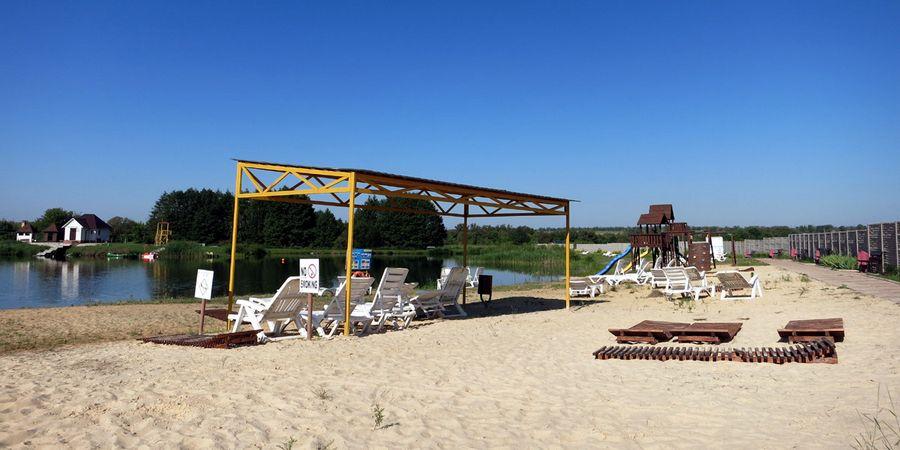 Песчаный пляж в Орле