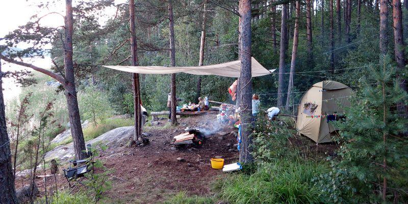 Как правильно разбить лагерь