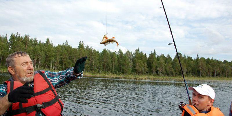 Рыбалка в Карелии на спиннинг