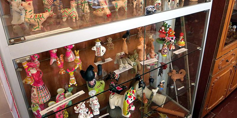 Глиняная игрушка Старый оскол