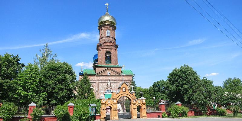 Вознесенская церковь в Старом Осколе