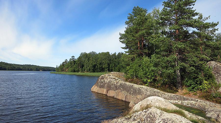 Остров Кюлянсари в проливе Расинселькя