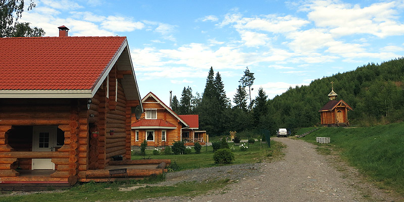 Аренда домика на берегу Ладожского озера в Карелии