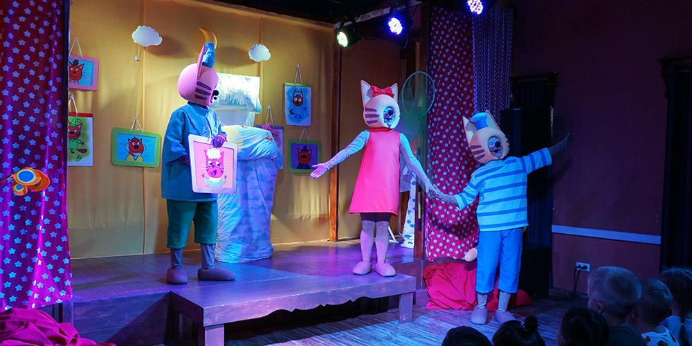 Сочи Парк Шоу Три кота