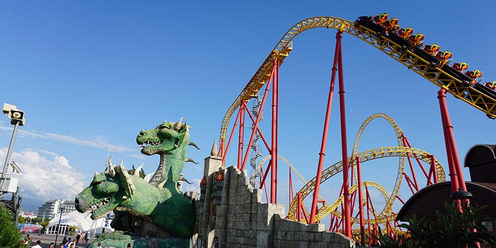 Сочи Парк аттракционы Змей Горыныч