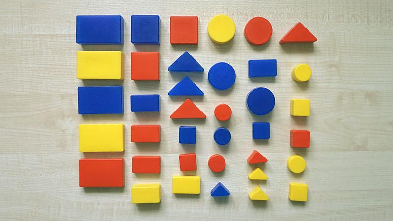 Логические игры блоками Дьенеша