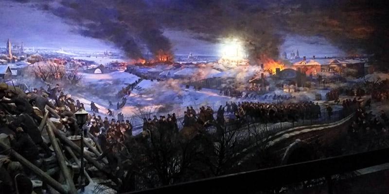 Диорама Героическая Пресня 1905 год