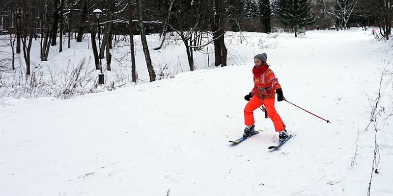 Прокат горных лыж в Андре