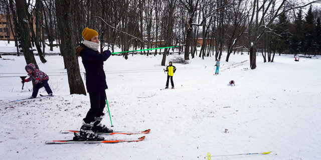 Горные лыжи в Андре Мценск