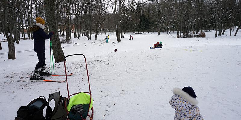 Спуск для детей