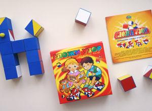Чудо-кубики «Сложи узор» - лучший дошкольный репетитор по развитию пространственного воображения, сообразительности и логического мышления