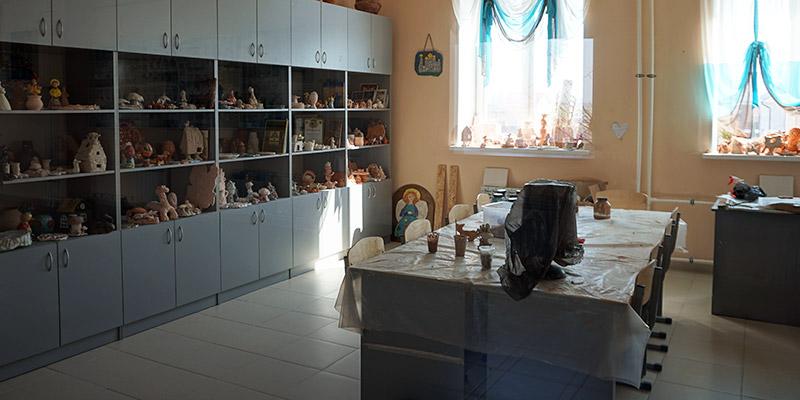 Мастерская керамики