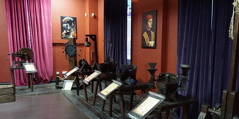 Музей Леонардо да Винчи в Олимпийском парке