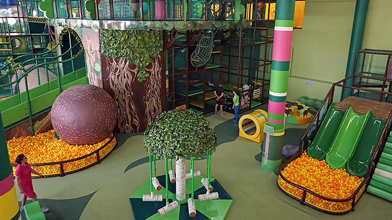"""Детская площадка в """"Стране Медведии"""" в Сочи Парке"""