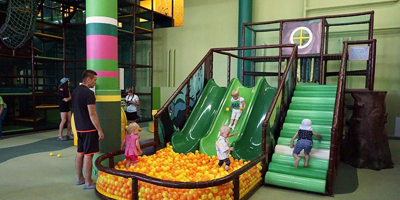 Горка для малышей до 3 лет