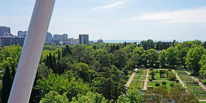 Колесо обозрения панорама Сочи и Черное море