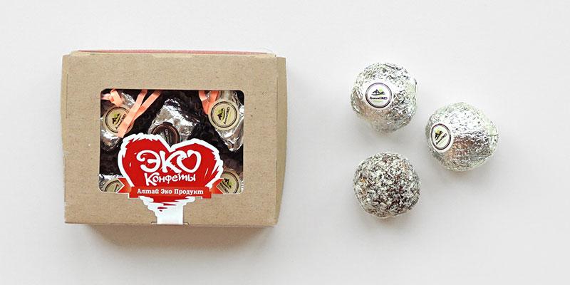Натуральные эко конфеты с сухофруктами и орехами