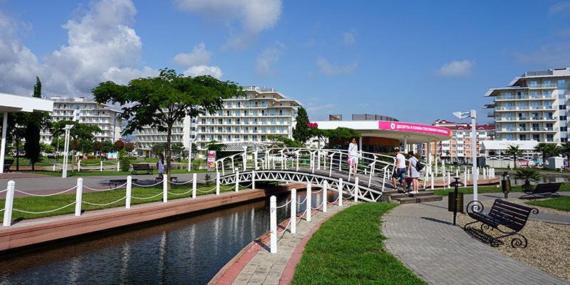 Территория Сочи Парк Отеля