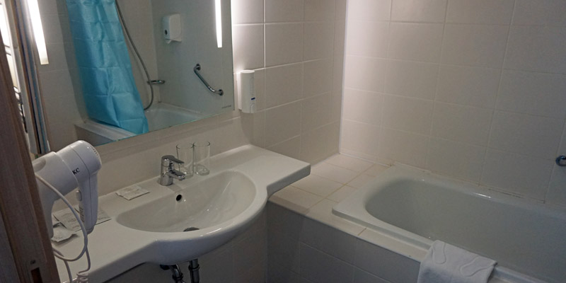 Туалет санузел в стандартном номере