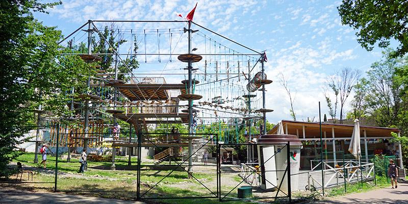Веревочный парк в Сочи Sky Town