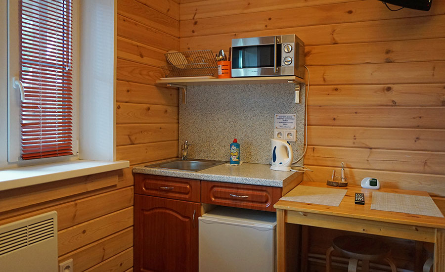 Мини кухня в номере