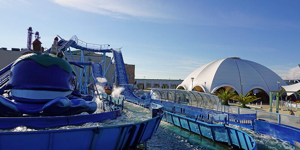 Морской аттракцион Чудо Юдо Рыба Кит