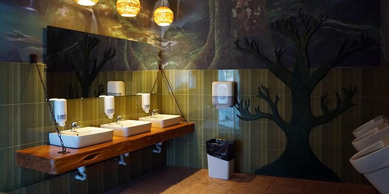 Детский туалет в Сочи Парке