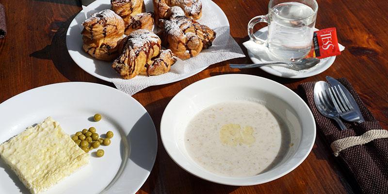 Завтрак комплексное меню
