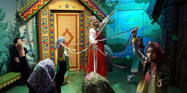 Детский музей-театр Сказкин дом ТРЦ Ривьера