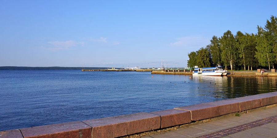 Набережная Онежского озера