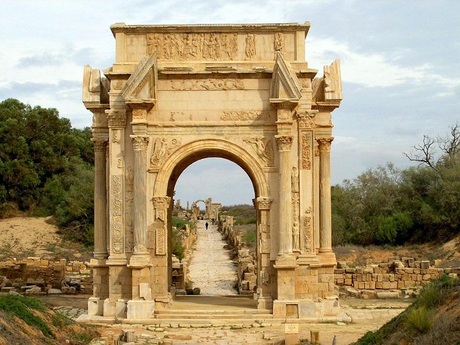 Арки древних римлян