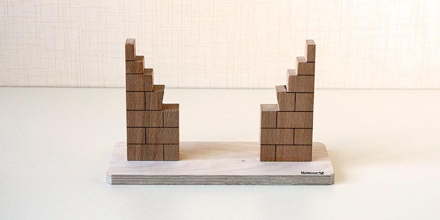Доска подставка с двумя несущими колонами
