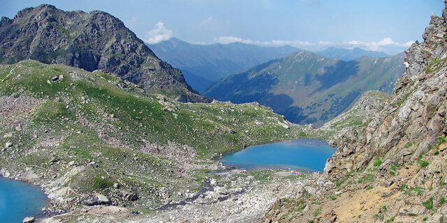 Большое и Нижнее Софийское озеро Архыз
