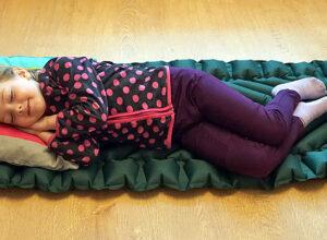 Надувной туристический матрас для детей Klymit Statiс V Junior